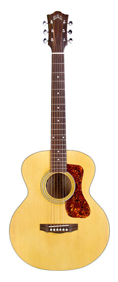 guild jumbo junior maple acoustic guitar with electronics. Black Bedroom Furniture Sets. Home Design Ideas