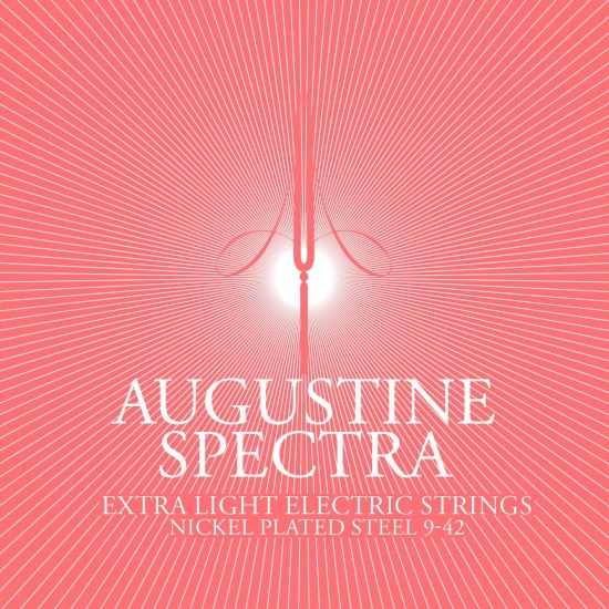 augustine spectra as0942 electric guitar strings extra light 9 42. Black Bedroom Furniture Sets. Home Design Ideas