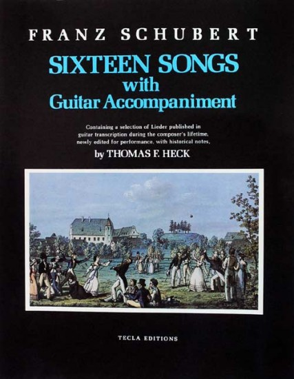 Franz Schubert: Sixteen Songs with guitar accompaniment