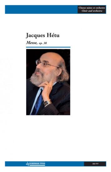 Hetu | Messe, Opus 38 (score) for 3 timp , 2 perc, mixt choir, strings