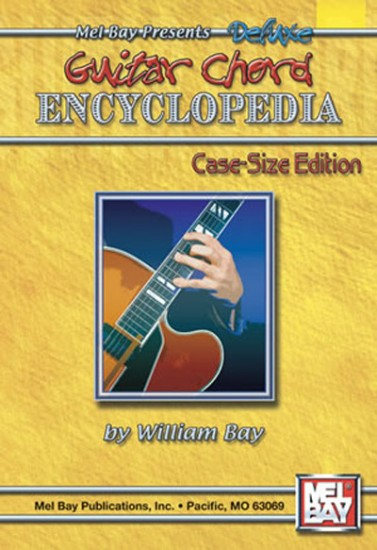 deluxe guitar chord encyclopedia case size book. Black Bedroom Furniture Sets. Home Design Ideas
