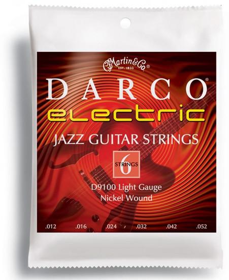 martin darco electric guitar strings light gauge d9100 12 52. Black Bedroom Furniture Sets. Home Design Ideas