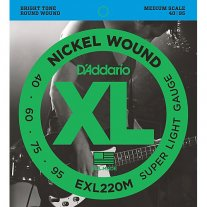 Long Scale 45-130 Renewed DAddario EPS170-5 5-String ProSteels Bass Guitar Strings Light