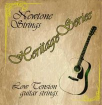 newtone heritage series guitar strings round core low tension. Black Bedroom Furniture Sets. Home Design Ideas