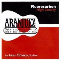 Aranjuez Carbon High Density Classical Guitar Strings, Treble Set