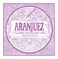 Aranjuez Classic Silver 300 MT Classical Guitar Strings, Full Set
