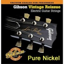 gibson vintage reissue electric guitar strings pure nickel 10 46. Black Bedroom Furniture Sets. Home Design Ideas