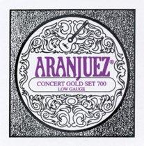 Aranjuez Concert Gold 700 LT Classical Guitar Strings, Full Set