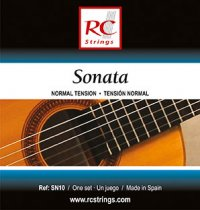 RC Strings SN10 Sonata NT Classical Guitar Strings, Full Set