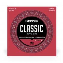 D'Addario EJ27N Classic Nylon NT Classical Guitar Strings, Full Set