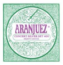 Aranjuez Concert Silver 400 HT Classical Guitar Strings, Full Set