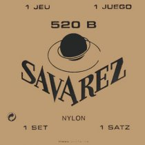 Savarez 520B Rectified Trebles/White Card Basses LT Strings, Full Set