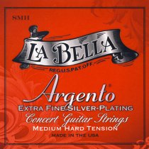 La Bella Argento SMH Sterling MHT Classical Guitar Strings, Full Set