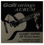 Galli Aurum AR70 HT Classical Guitar Strings, Full Set