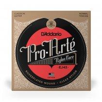 D'Addario EJ45 Pro Arte NT Classical Guitar Strings, Full Set