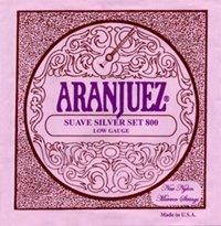 Aranjuez Suave Silver 800 LT Classical Guitar Strings, Full Set