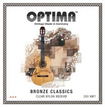 Optima 280.NMT Bronze Classics Clear Nylon Medium Tension