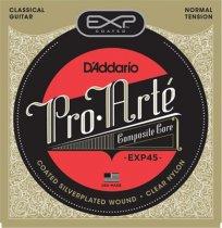 D'Addario EXP45 Coated NT Classical Guitar Strings, Full Set