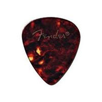 Fender Shell Thin 351 Classic Teardrop Celluloid Pick, One