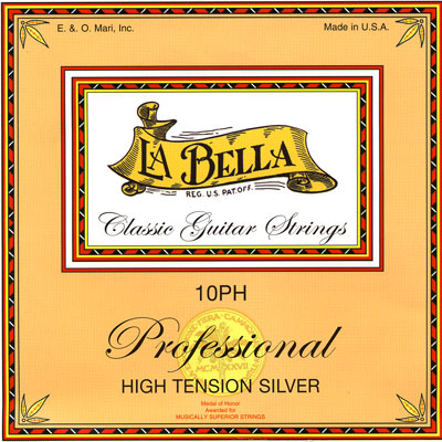 La Bella 10PH High Tension Silver, Full Set