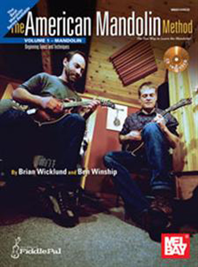 American Mandolin Method Volume 1 book/CD