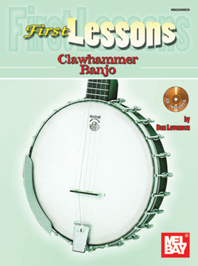First Lessons Clawhammer Banjo Book/CD