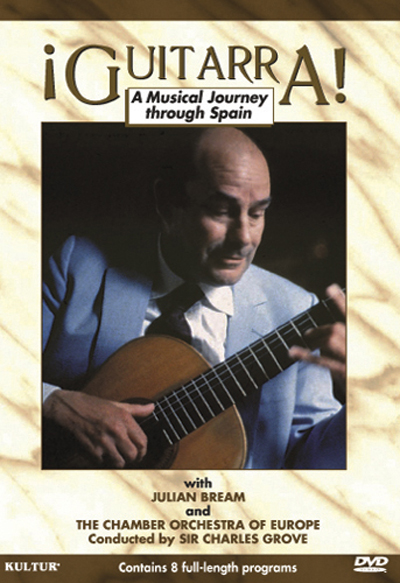 Julian Bream - Guitarra, A Musical Journey Through Spain DVD