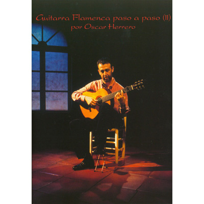 Oscar Herrero, Flamenco Guitar Step by Step Volume 2 DVD