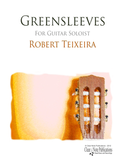 Greensleeves for guitar solo