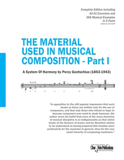 The Material Used in Musical Composition 5 Volume Set