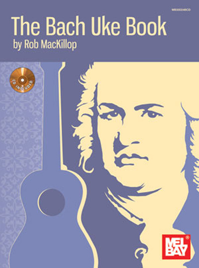 The Bach Uke Book Book w/CD