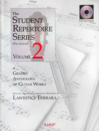 The Student Repertoire Series, Volume 2 (bk/CD)