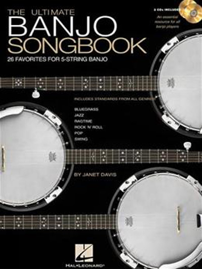 The Ulitimate Banjo Songbook Book/2 CD's