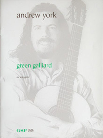 Green Galliard for solo guitar