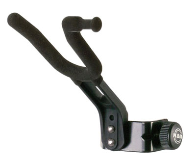 K&M Violin Holder Black 15580
