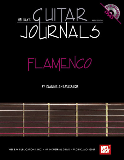 Guitar Journals - Flamenco, by Ioannis Anastassakis (Book & DVD)