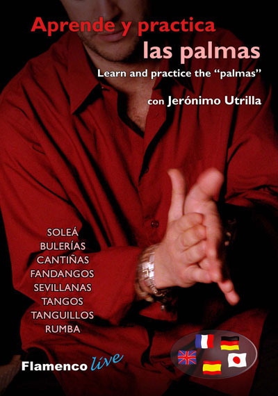 "Jeronimo Utrilla - Learn and Practice the ""Palmas"" DVD"