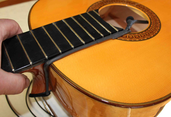 the2mic classical flamenco dual soundhole microphone. Black Bedroom Furniture Sets. Home Design Ideas