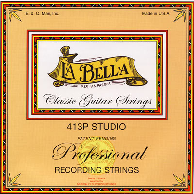 La Bella 413P Studio Recording Strings Medium-High Tension, Full Set