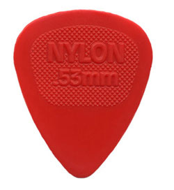 Dunlop Nylon 443R .53 MIDI Red, Single Pick