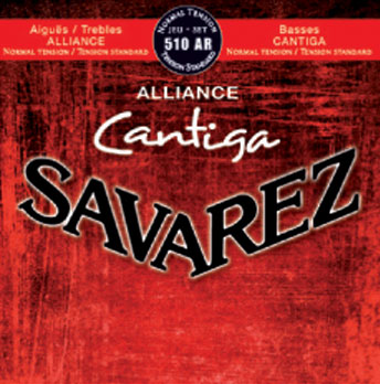 Savarez Cantiga Normal Tension 4th D .0291, Single String