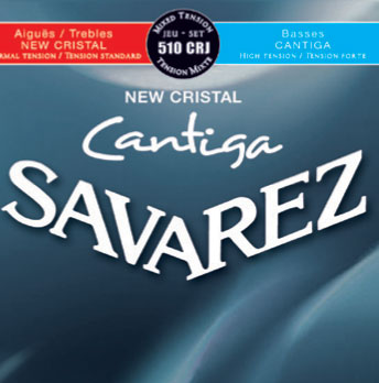 Savarez 510CRJ New Cristal/Cantiga Normal/High, Full Set