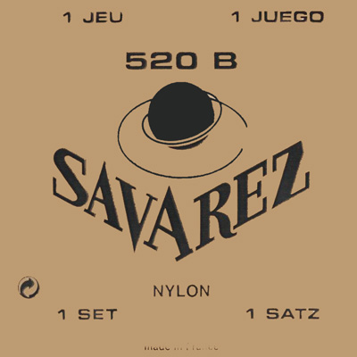 Savarez Traditional 522B - 2nd string (b), low tension .0315