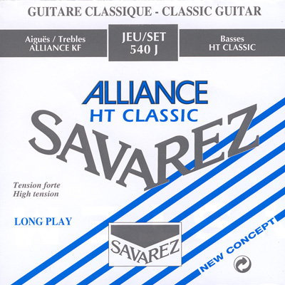 Savarez 540J Alliance/HT Classic High Tension, Full Set