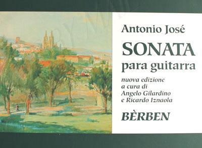 Antonio Jose Sonata Pdf Printer