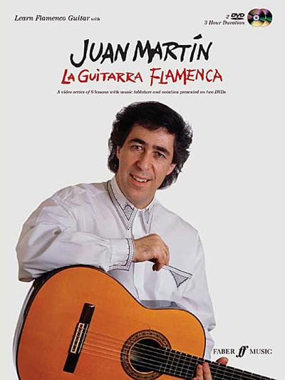Juan Martin, La Guitarra Flamenca, book and DVD's