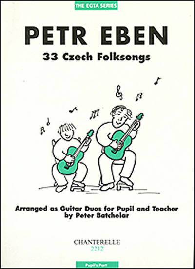 Petr Eben | 33 Czech Folksongs, Teacher's score