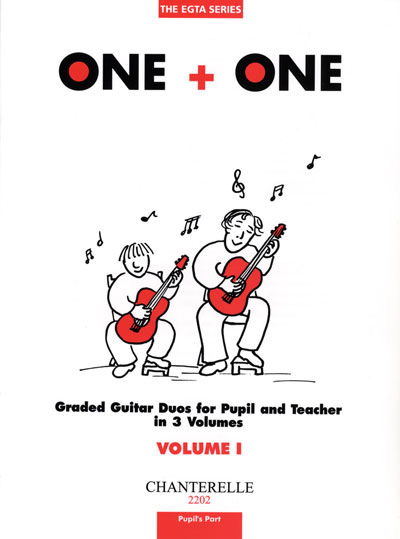 One + One Graded Guitar Duos for Pupil & Teacher, Vol. 1 Pupil's Part