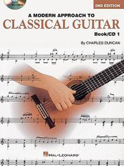 Charles Duncan | A Modern Approach to Classical Guitar Book/CD 1