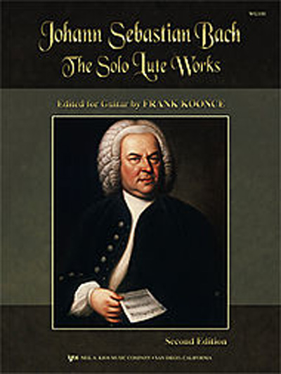 J. S. Bach: The Solo Lute Works 2nd Edition, ed. by Frank Koonce